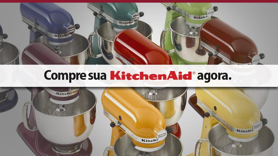 Compre sua Batedeira KitchenAid com Garantia Oficial.