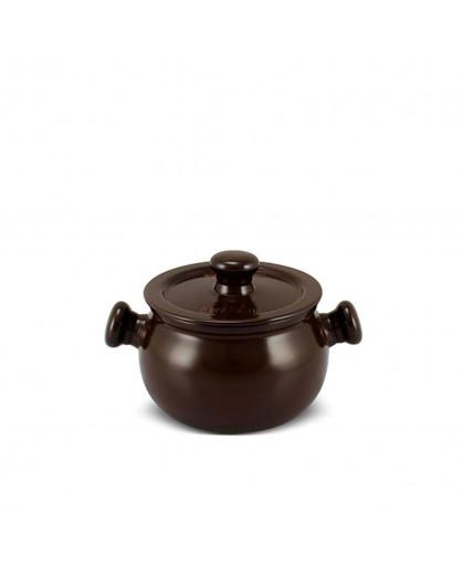 Caçarola Ceraflame Premiere+ 14cm 1,6 litros Chocolate