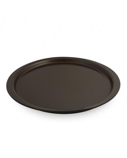 Forma de Cerâmica para Pizza 28cm Chocolate