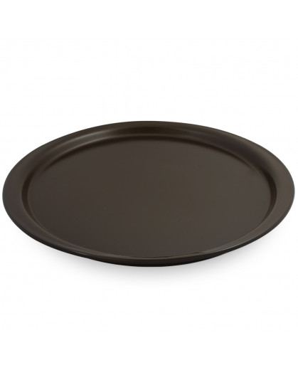 Forma de Cerâmica para Pizza 35cm Chocolate