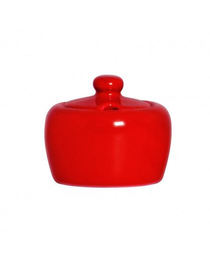 Açucareiro de Cerâmica Standard Vermelho 10x9cm