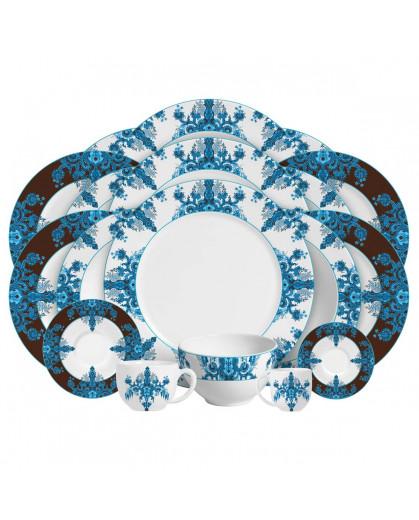 Aparelho de Jantar Calcutá Porto Brasil em Cerâmica
