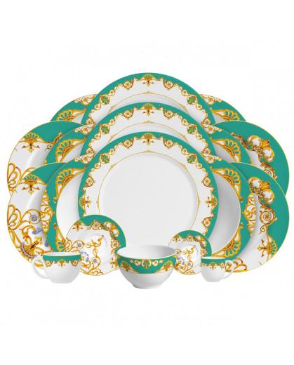 Aparelho de Jantar Scarf Porto Brasil em Cerâmica
