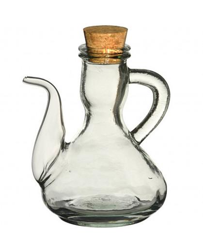 Azeiteiro em Vidro Reciclado Focall 500ml Transparente