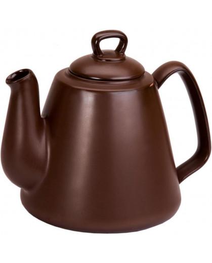 Bule Tropeiro Ceraflame Cerâmica Chocolate 1300ml