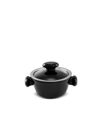 Caçarola Ceraflame de Cerâmica do Chef  14cm 700ml Preto