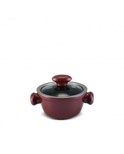 Caçarola Ceraflame de Cerâmica do Chef  14cm 700ml Rose Gold
