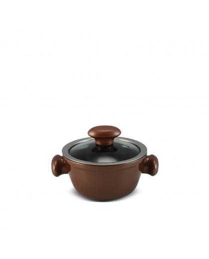 Caçarola Ceraflame de Cerâmica do Chef  14cm 700ml Cobre