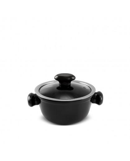 Caçarola Ceraflame de Cerâmica do Chef  16cm 1000ml Preto