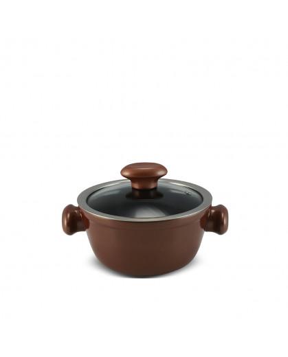 Caçarola Ceraflame de Cerâmica do Chef  16cm 1000ml Cobre