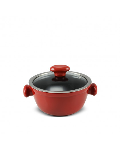 Caçarola Ceraflame de Cerâmica do Chef  18cm 1300ml Pomodoro