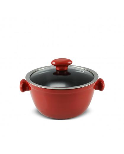 Caçarola Ceraflame de Cerâmica do Chef  20cm 2200ml Pomodoro