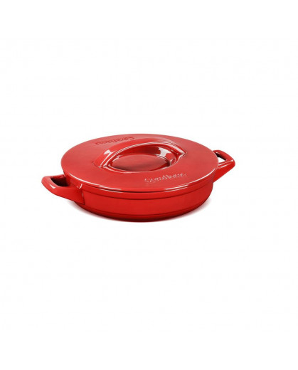 Caçarola Ceraflame Duo+ Buffet em Cerâmica  24cm 1,9 Litros Pomodoro