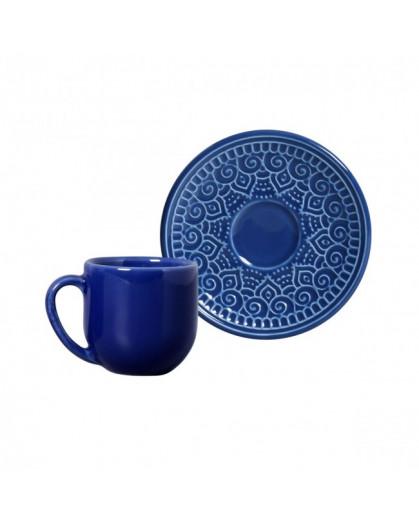 Xícara para Café Agra Azul Porto Brasil