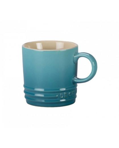 Caneca de Cappuccino Le Creuset Azul Caribe 200ml
