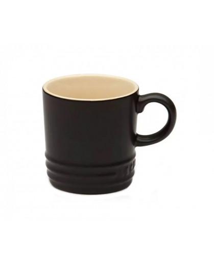 Caneca de Cappuccino Le Creuset Black Onix 200ml
