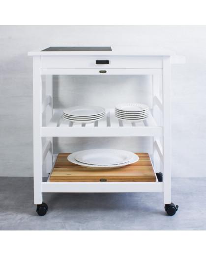 Carrinho Gourmet Classic 100 Branco VAIK