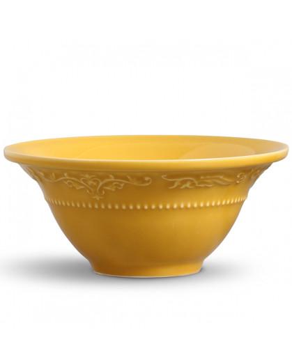 Conjunto de Bowls Acanthus Mostarda Porto Brasil 6 Peças