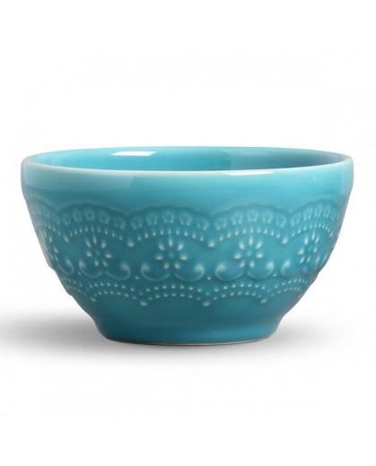Conjunto de Bowls Madeleine Azul Poppy Porto Brasil 6pc