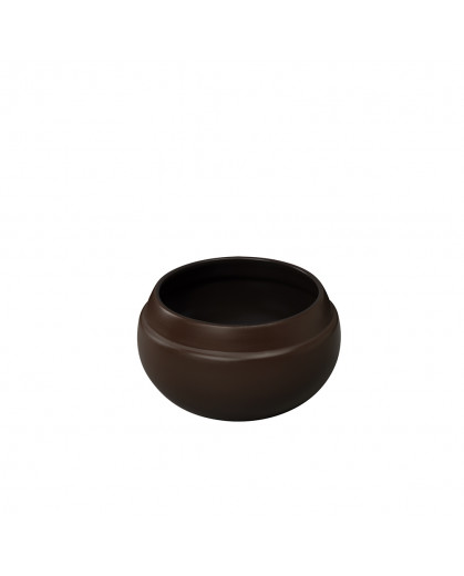 Cumbuca Feijoada em Cerâmica Ceraflame 12cm  900ml - chocolate