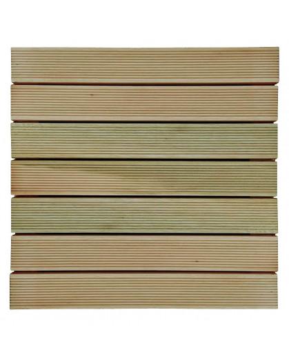 Deck de Madeira Maciça 50x50cm Mades