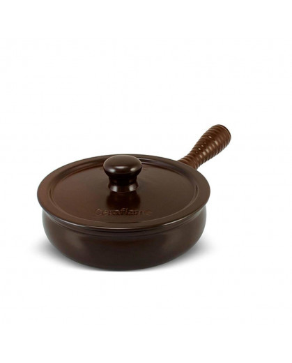 Frigideira Premiere+ com tampa 20cm 1,5 Litros - Chocolate