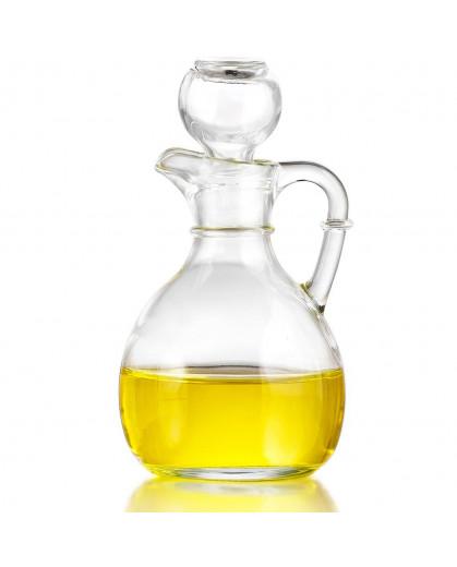 Garrafa para Azeite ou Vinagre de Vidro Cruet Crisa 177 ml