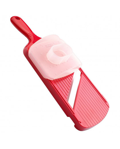 Mandoline Fatiador Ajustável Lâmina Cerâmica Kyocera CSN-202-RD Vermelho