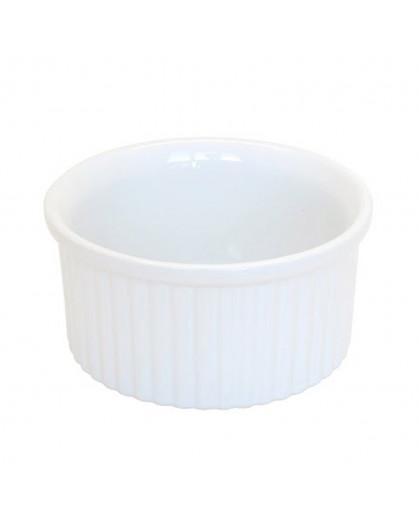 Ramekin de Cerâmcia Branca 10cm
