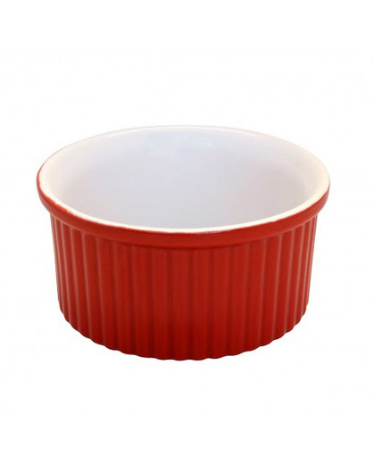 Ramequin de Cerâmica Vermelha 10cm