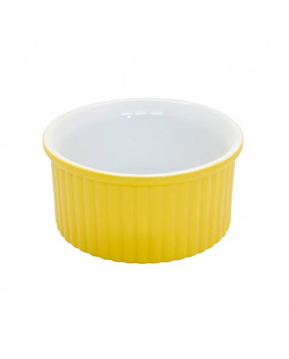 Ramequin Amarelo em Cerâmica 6cm