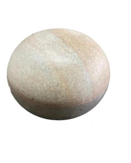 Saleiro Bola 12cm em Pedra Sabão