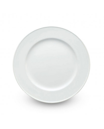Sousplat de Porcelana Oxford 33cm Branco