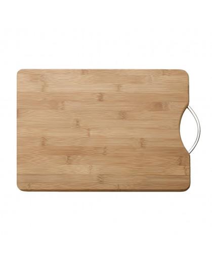 Tábua de Corte de Bambu Para Cozinha Com Alça Maxwell Williams 38x28x2cm
