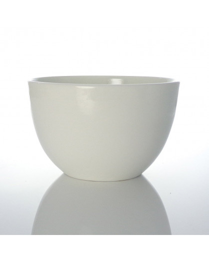 Bowl de Porcelana Branco Edge Salt & Pepper 12cm