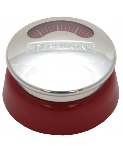 Timer de cozinha Typhoon com ima 60min vermelho