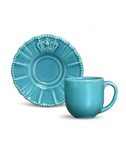 Xícara Café Porto Brasil Windsor Azul