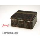 Embalagem de Metal Quadrada para Chocolate Meister Gourmet