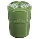 Porta Mantimentos Staub 1000 ml Verde Brasil Ceramica