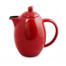 Bule Colonial Ceraflame Cerâmica Vermelho Pomodoro 1500ml