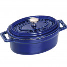 Cocotte Staub Oval Ferro Fundido Azul Marinho 11cm