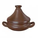 Caçarola Ceraflame 13cm 300ml Chocolate Com Tampa
