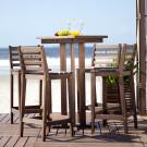 Conjunto de Mesa e Banquetas Para Bar