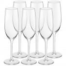 Conjunto com 6 Taças para Champagne Magnum Royal Leerdam 210ml