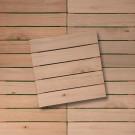 Conjunto Deck de Madeira Maciça Eucalipto 50x50cm Mades 6 Peças