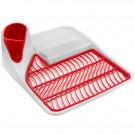 Escorredor de Louça Snips Elite Vermelho em Plástico