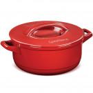 Panela Caçarola Ceraflame Duo+ em Cerâmica Vermelho Pomodoro 28cm