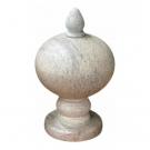 Saleiro Bola com Pé 8cm em Pedra Sabão