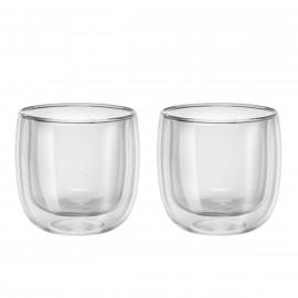 Jogo com 2 copos de vidro de parede dupla para Chá 240 ml ZWILLING Sorrento