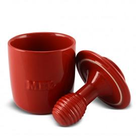 Pote de Mel 350 Gr Ceraflame Vermelho